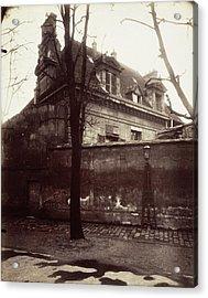 Ancien Couvent, Avenue De Lobservatoire Old Convent Acrylic Print