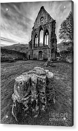 Ancient Abbey Acrylic Print by Adrian Evans