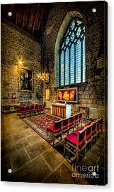 Ancient Cathedral Acrylic Print by Adrian Evans