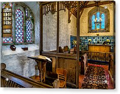 Ancient Chapel 2 Acrylic Print by Adrian Evans