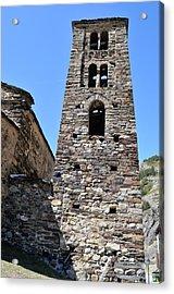 Ancient Church Acrylic Print by Arnau Ramos Oviedo