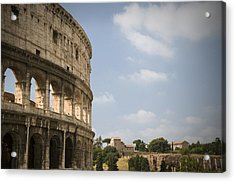 Ancient Colosseum Acrylic Print