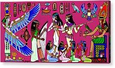 Ancient Egypt Splendor Acrylic Print by Hartmut Jager