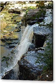 Ancient Erosion Acrylic Print by Ron Hayes