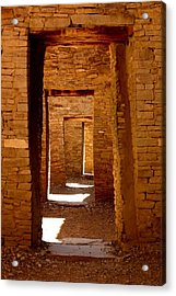 Ancient Galleries Acrylic Print by Joe Kozlowski