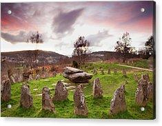 Ancient Gorsedd Stones, Pontypridd Acrylic Print