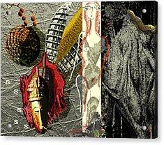 Ancient History Acrylic Print by Maria Jesus Hernandez