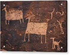 Ancient Hunt Acrylic Print