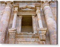 Ancient Jerash Gate, Amman, Jordan Acrylic Print by Keren Su