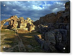 Acrylic Print featuring the photograph Ancient Landscape North Cyprus by Jim Vance