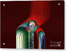 Ancient Memory Spirit Compassion Acrylic Print by Rebecca Phillips