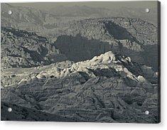 Ancient Nabatean City Of Petra Acrylic Print