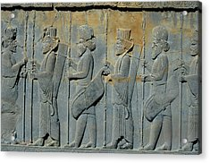Ancient Persian Carving Acrylic Print