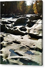 Ancient River Acrylic Print by Janice Spivey