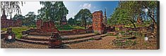 Ancient Ruins Of Ayutthaya Historical Acrylic Print by Panoramic Images