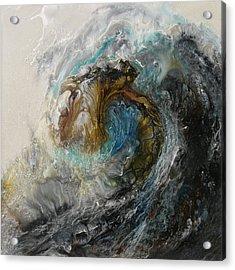 Ancient Seas Sold Acrylic Print by Lia Melia