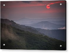 Ancient Smokies Acrylic Print by Serge Skiba