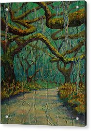Ancient Tapestry Acrylic Print