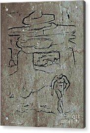 Ancient Wall Art Acrylic Print by John Malone