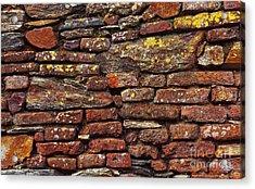 Ancient Wall Acrylic Print by Carlos Caetano