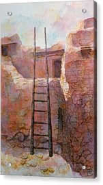 Ancient Walls Acrylic Print