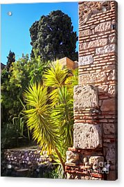 Ancient Walls Acrylic Print by Lutz Baar