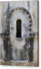 Ancient Window Acrylic Print by Radoslav Nedelchev