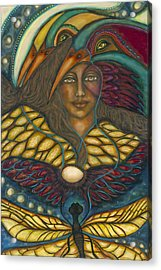 Ancient Wisdom Acrylic Print by Marie Howell Gallery