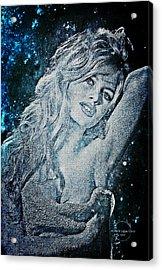 And God Created Woman Acrylic Print by Absinthe Art By Michelle LeAnn Scott