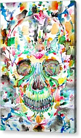 And Joining At Last Its Mighty Origin Acrylic Print by Fabrizio Cassetta