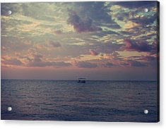 And Now Here I Am Alone Acrylic Print by Laurie Search