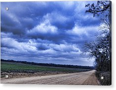 And The Thunder Rolls Acrylic Print by Jan Amiss Photography