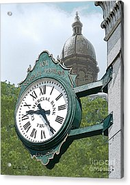 And The Time Is Acrylic Print