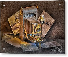 And Then Came Digital Acrylic Print by Arnie Goldstein