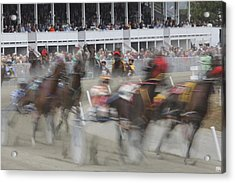 And They Are Off Acrylic Print