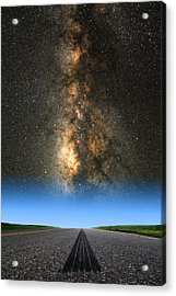 Acrylic Print featuring the photograph And They're Off  by Larry Landolfi