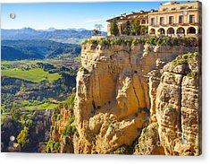 Andalucia Ronda Acrylic Print by Lutz Baar