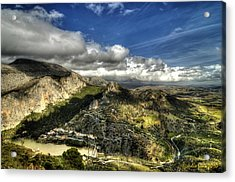 Acrylic Print featuring the photograph Andalusia - Mountain View by Julis Simo