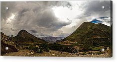 Andean Hills Acrylic Print