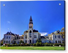 Anderson Hall At K-state Acrylic Print
