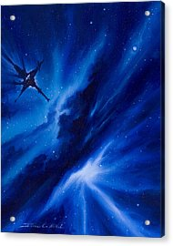 Andreas Nebula Acrylic Print by James Christopher Hill