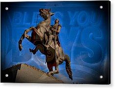 Andrew Jackson And New Orleans Saints Acrylic Print