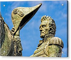 Andrew Jackson  Acrylic Print by Christopher Holmes