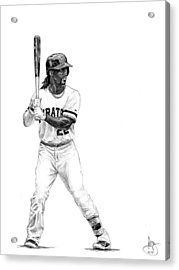 Andrew Mccutchen Acrylic Print by Joshua Sooter
