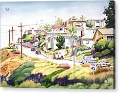 Andrews Street Mission Hills Acrylic Print