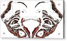 Acrylic Print featuring the digital art Androidinous by Richard Thomas