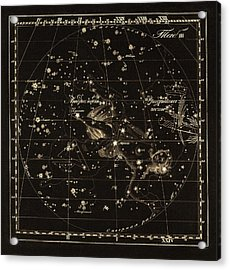 Andromeda Constellations, 1829 Acrylic Print by Science Photo Library