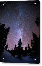 Andromeda Our Neighbor Acrylic Print by Darren  White