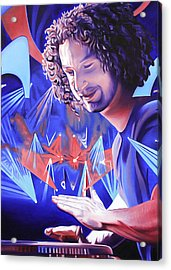 Andy Farag  Acrylic Print by Joshua Morton