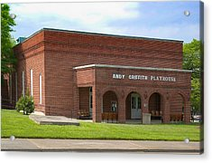 Andy Griffith Playhouse Nc Acrylic Print by Bob Pardue